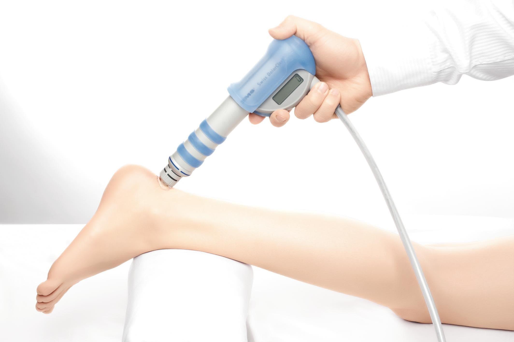 Лечение шпор ударно-волновой терапией